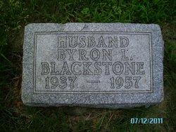 Byron Leslie Blackstone