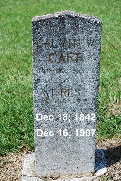 Calvin Wesley Carr