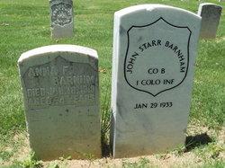 John Starr Barnham