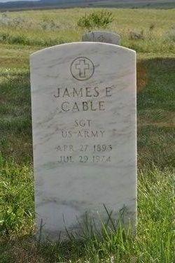 Sgt James Ernest Cable