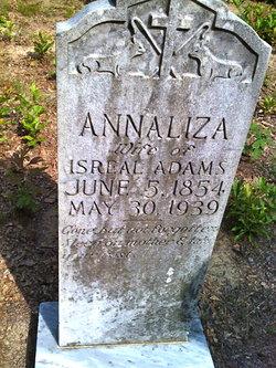 Annie Eliza <i>Crandall</i> Adams