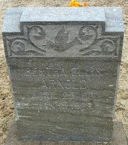 Bertha Ellis <i>Staker</i> Arnold