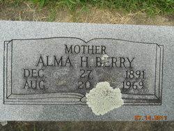 Alma <i>Huffman</i> Berry