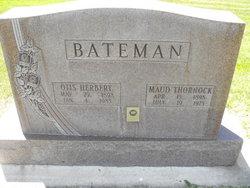 Maud <i>Thornock</i> Bateman