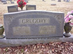 Rebecca Ann <i>Smith</i> Gregory