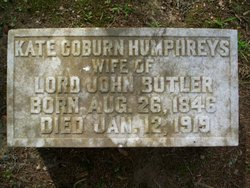 Kate Cobun <i>Humphreys</i> Butler