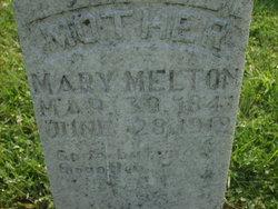 Mary Polly <i>Harmon</i> Melton