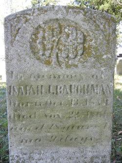 Isaiah J. Baughman