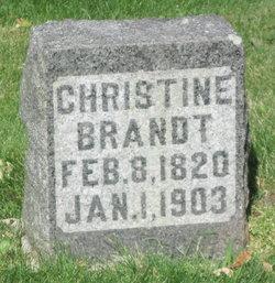 Christine <i>Schultz</i> Brandt