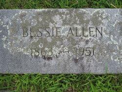 Mary Malissa Elizabeth Bessie Allen
