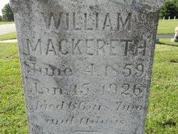 William Mackereth