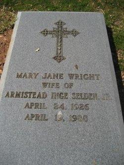 Mary Jane <i>Wright</i> Selden