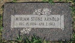 Miriam <i>Stone</i> Arnold