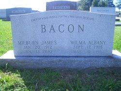Wilma Gladys <i>Albany</i> Bacon