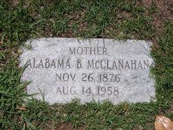 Alabama B. McClanahan