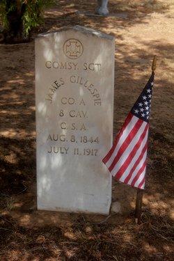 Sgt James S Gillespie