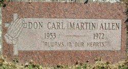 Don Carl <i>(Martin)</i> Allen