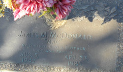 James M <i>Mac</i> McDonald
