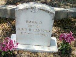 Emma D. <i>Daugherty</i> Banister