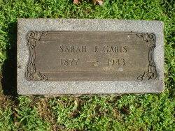 Sarah Jennie <i>Weaver</i> Garis