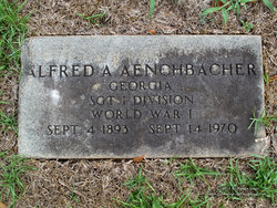 Alfred A Aenchbacher
