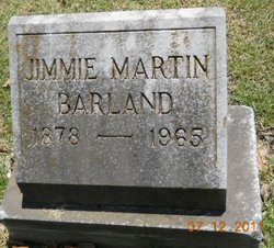 Jimmie Mattie <i>Martin</i> Barland