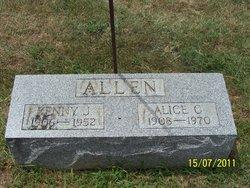 Alice C. <i>Montonye</i> Allen