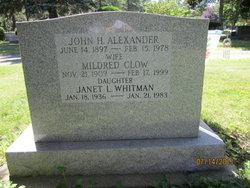 John Hugh Alexander