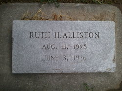 Ruth La Blanche <i>Humphreys</i> Alliston