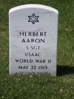 Sgt Herbert Aaron