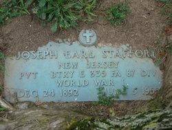 Joseph Earl Joe Stafford