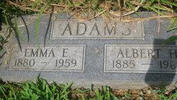 Emma E <i>Axel</i> Adams