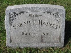 Sarah Elizabeth <i>Hoffman</i> Haines