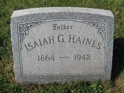 Isaiah G Haines