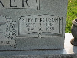 Ruby <i>Ferguson</i> Barker