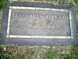 Elizabeth Peachy <i>Brixey</i> Briggs