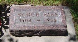 Harold Bahn