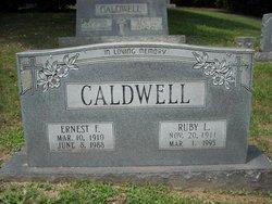 Ruby Lee <i>Leatherwood</i> Caldwell