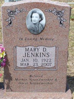 Mary D Jenkins