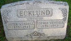 Sophia Wendell Ecklund
