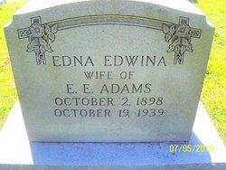Edna Edwina <i>Epps</i> Adams