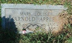 Mary Louise <i>Arnold</i> Apple