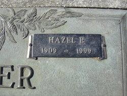 Hazel Ester Edren <i>Smith</i> Carter