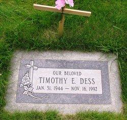 Timothy E Dess