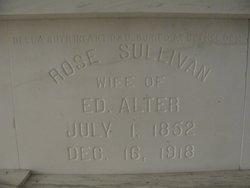 Roseannah A. Rose <i>Sullivan</i> Alter