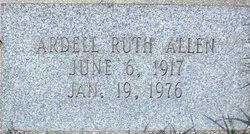 Ardell Ruth Allen