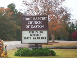 Gaston First Baptist Church Cemetery