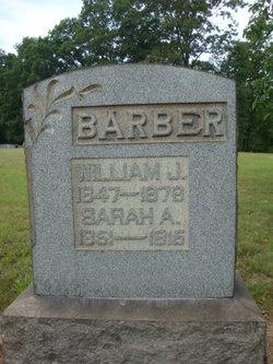 Sarah Ann <i>Watt</i> Barber