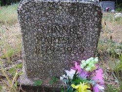 Minnie E. <i>Ratlief</i> Hartman