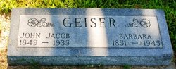 John Jacob Geiser